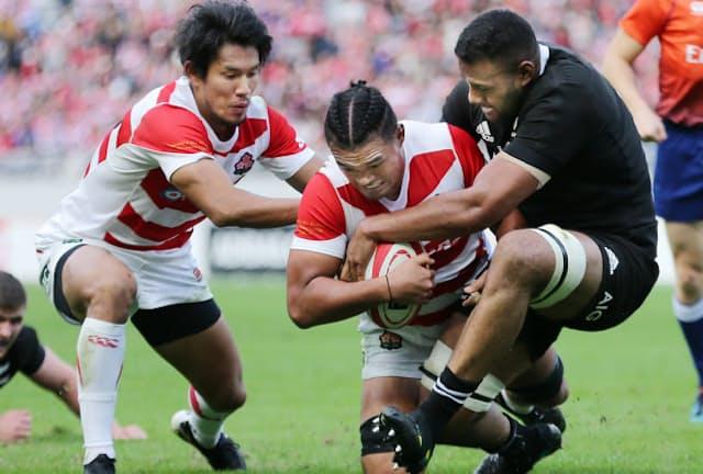 W杯日本大会を来年に控え、日本代表の強化も進む(11月3日のニュージーランド戦)