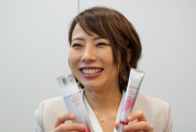 富士フイルムヘルスケアラボラトリーの近野史子さん