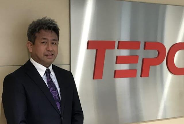 東京電力エナジーパートナーの勝岡伸圭さん