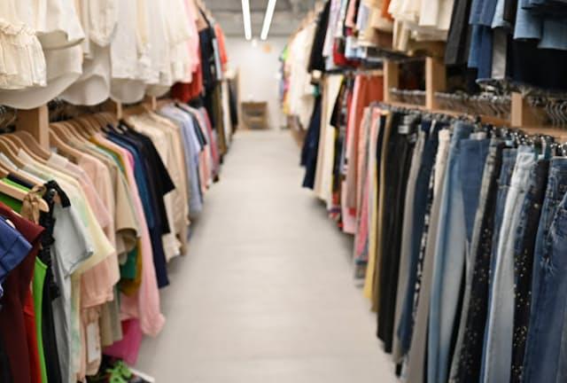 スタイリストが6時間滞在して服を選ぶことも(東京都渋谷区)