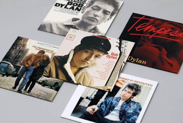 ボブ・ディラン氏の主なアルバム