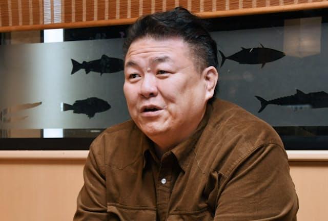 元関脇・貴闘力の鎌苅忠茂さん(49)