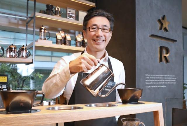 スターバックスコーヒージャパンの水口貴文CEO