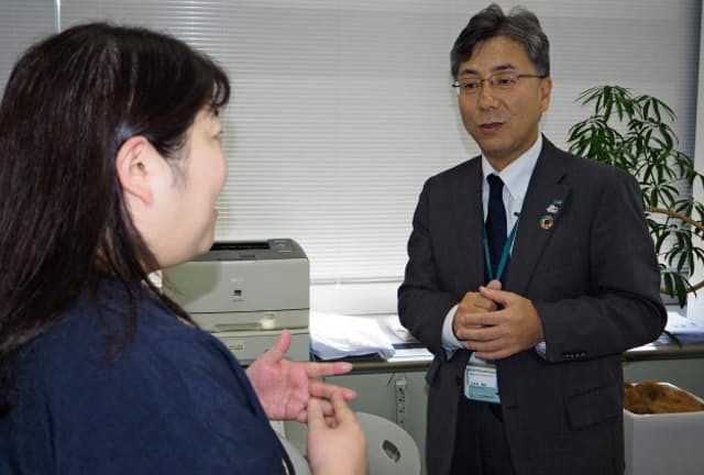 あいおいニッセイ同和損保・東京自動車営業第三部長の久保田敏弘さん(53)