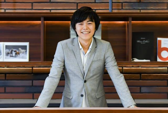 キャリアコンサルタントのマッチングサービスを手がけるカケダスのCEO、渋川駿伍さん