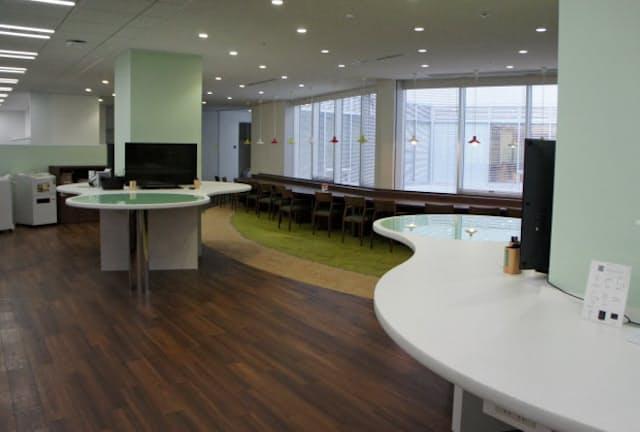 空いたスペースを社員の意識向上のため活用(横浜市)