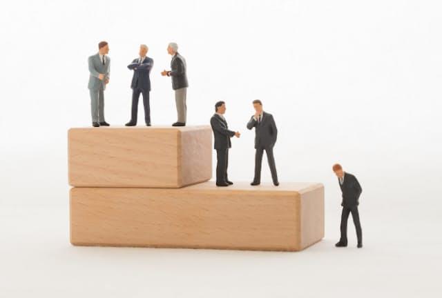序列のバランスを気にする習慣は、大企業では珍しくない。写真はイメージ=PIXTA