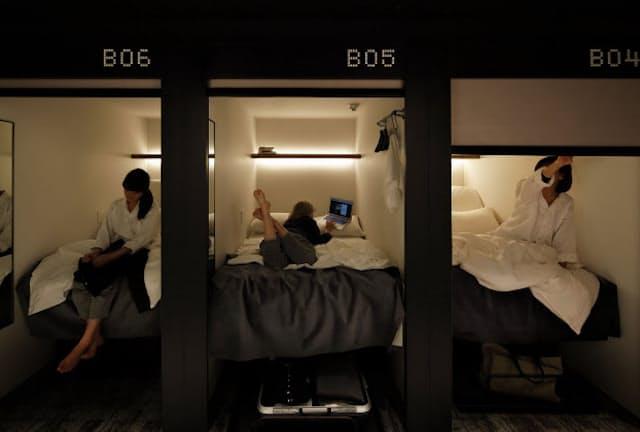「The Millennials Shibuya」(東京都渋谷区神南1-20-13)。客室数120。客室単価は6000円前後。同施設を運営するのはグローバルエージェンツ(東京都渋谷区)