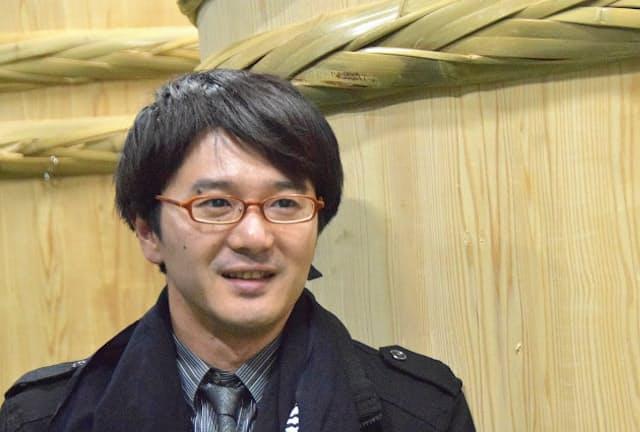 新政酒造の佐藤祐輔社長には異名が多い