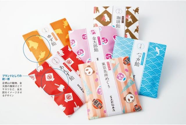 凹凸のある高級和紙「新檀紙」を包装紙に使用し、贈答用、お使いもの用をイメージした「和のこころ」シリーズ。薄くかさばらない包装なので、箱詰めにも適している