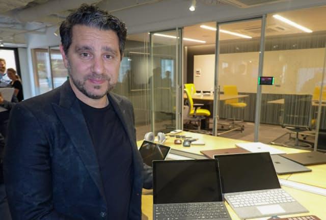 米マイクロソフト・最高製品責任者(CPO)のパノス・パネイ氏