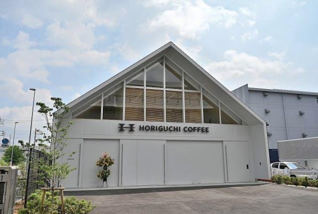 堀口珈琲の焙煎所「横浜ロースタリー」