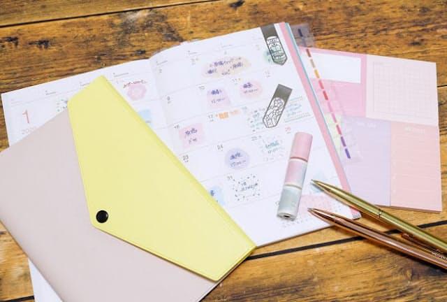 自分らしい手帳に楽しく便利にアレンジできる新作文具(キット)