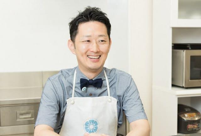 「冷凍王子」こと冷凍生活アドバイザーの西川剛史さん