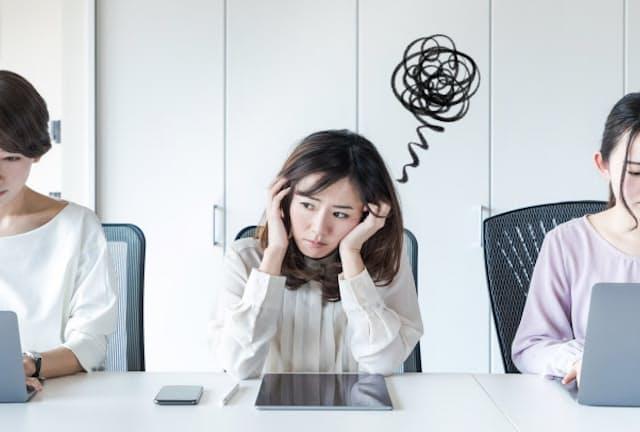 職場の悩みの多くは人間関係に原因がある(写真はイメージ)=PIXTA