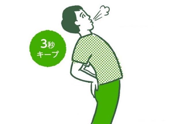 腰痛や肩こりの予防・解消に役立つ、短時間でできる体操とは?(イラスト 平井さくら)
