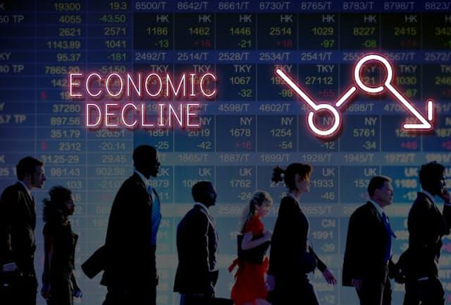 経済が長期停滞する原因とは(画像=PIXTA)