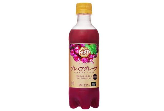 3月2日にコカ・コーラシステムが全国発売した「ファンタ プレミアグレープ」