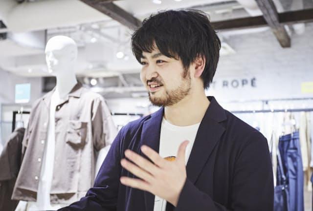 ADAM ET ROPE'ルミネ横浜店 小出友樹さん