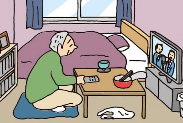 高齢者の一人暮らしでは認知症のリスクが高まる恐れがある。特に人との接触が制限される感染症の拡大期ではその傾向が顕著だ。