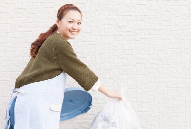 ゴミを減らすと自然と節約に(写真はイメージ=PIXTA)