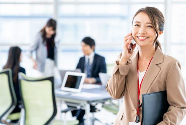 管理職の仕事に手応えを感じる女性が増えてきた(写真はイメージ) =PIXTA