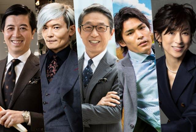 「挑戦し続ける人」5人を表彰した。(左から)高島宏平氏、宮田裕章氏、岩元美智彦氏、楢崎智亜氏、鈴木保奈美氏