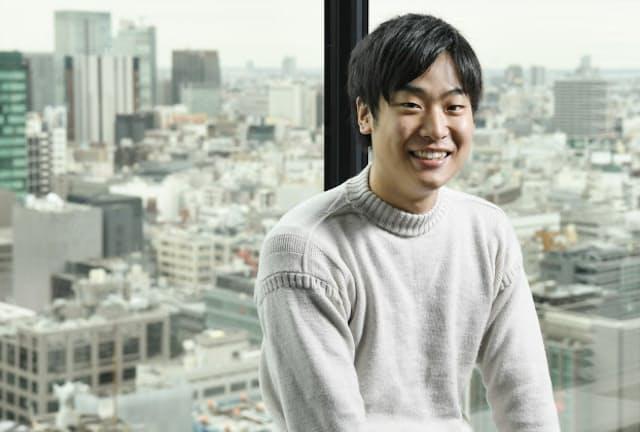 Diary社長で金沢大学4年の福田駿さん