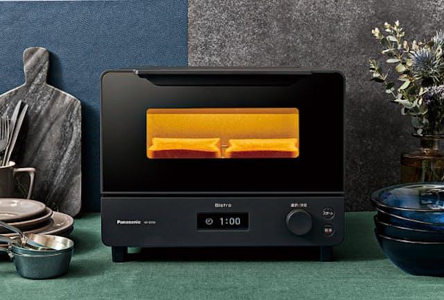 パナソニックのオーブントースター「ビストロ NT-D700」。実売価格は税込み2万7000円前後