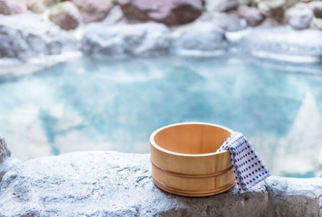 「痛み」や「生活の質」に対する温泉療法の効果が明らかに。(c)keisuke kai-123RF