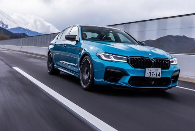 625PSのV8ツインターボに4WDシャシーが組み合わされた「BMW M5コンペティション」に試乗した(写真:花村英典、以下同)