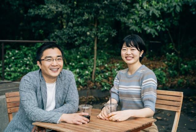 キャリアキャンプ主宰の神谷さん(写真左)と、イベント運営を担ってきた筑波大学大学院生の松原さん