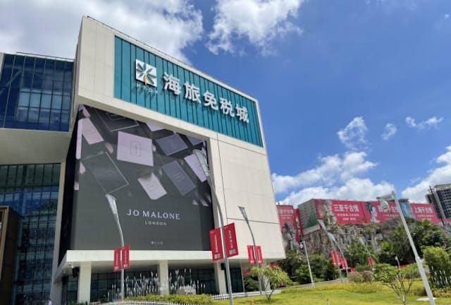 日本企業も中国・海南島の免税店での販売に力をいれている