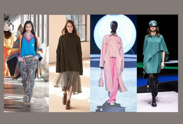 2021-22秋冬ファッションは華やぎを取り戻した