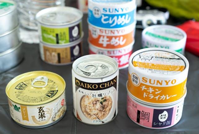 この数年で種類が増えたご飯缶詰。非常食にも日常食にも使える