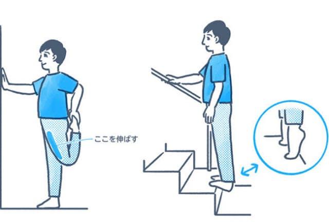 普段体を動かしていない人が急に運動を始めると、膝や足を痛めてしまうかもしれない。(イラスト=平井さくら)