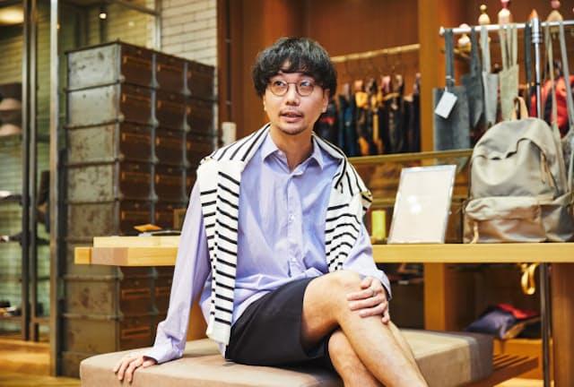 EDIFICE新宿店の三浦健司さん