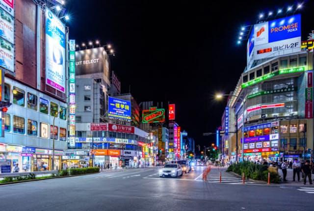 東京・高田馬場駅周辺(写真はPIXTA)