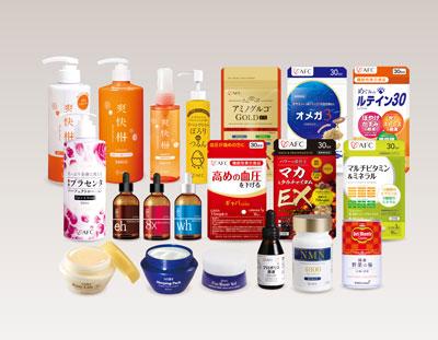 100株以上健康食品・化粧品の割引券