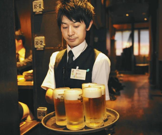 鳥貴族 ビール