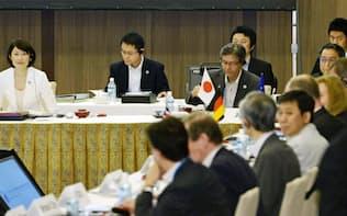 5月、富山市で開かれたG7環境相会合は代替フロンHFCの生産規制で合意した