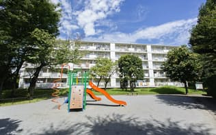 URの「近居割」は利用者が増えている(千葉市内のUR賃貸住宅)