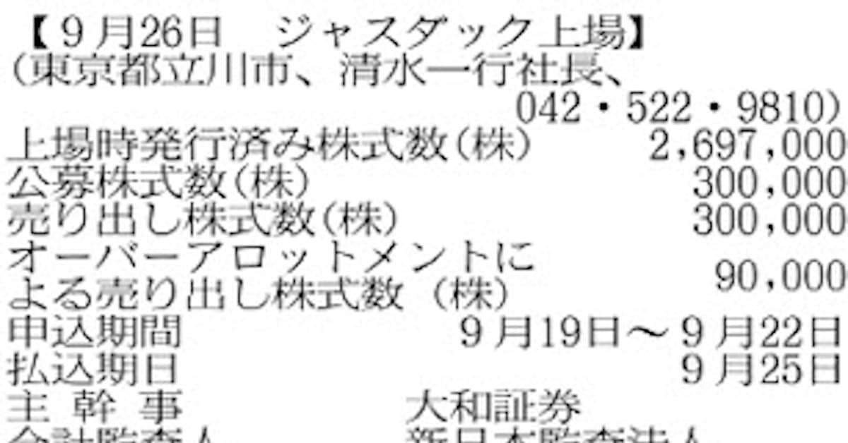 寿屋(7809): 日本経済新聞