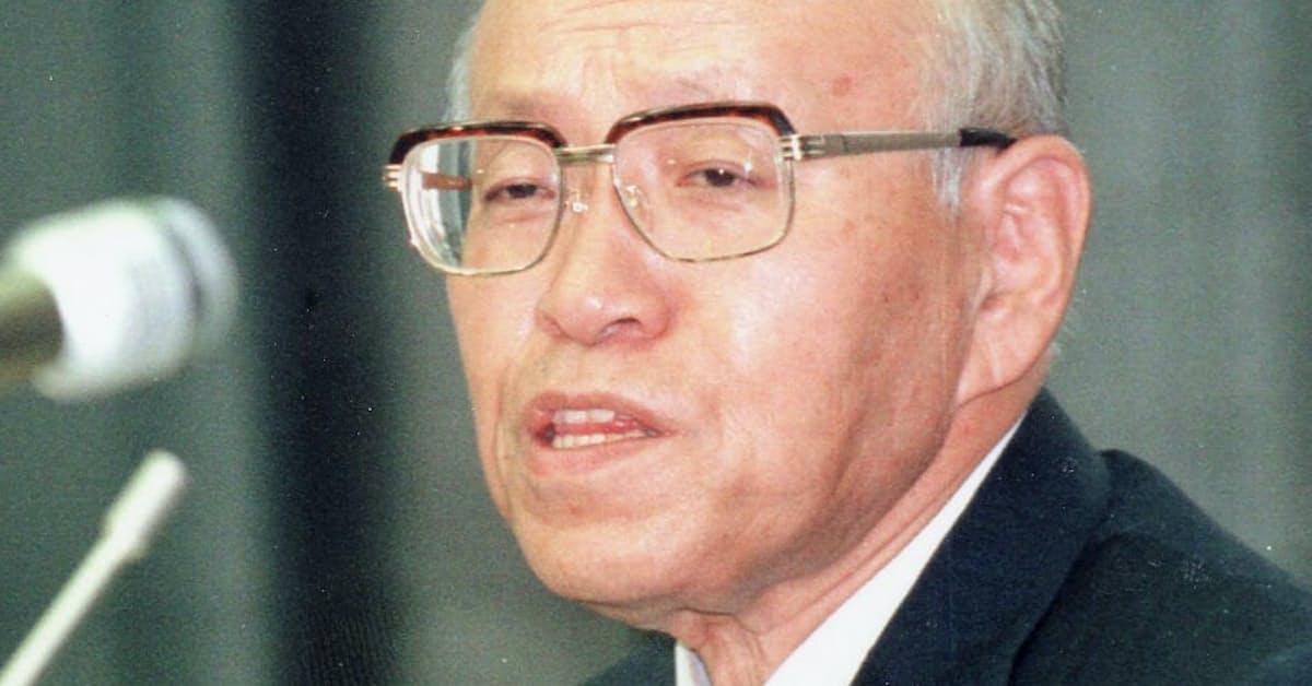 中坊公平氏: 日本経済新聞