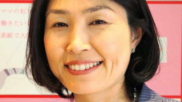 田中彩さん 再就職助け企業とつなぐ