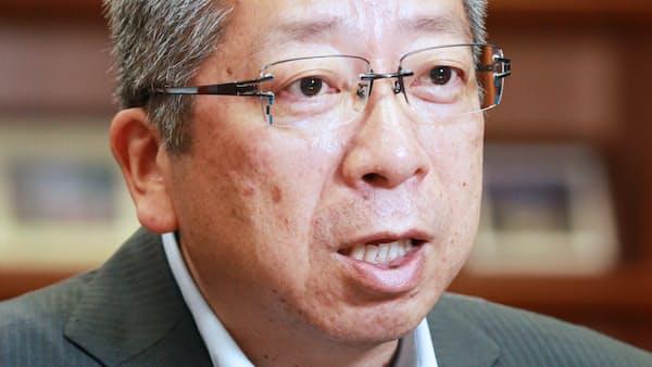 日本郵便社長 横山邦男氏