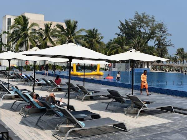 仏アコーグループは、ベトナムのリゾート開発で先行している(ダナン)
