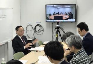 神戸大は東京都内でもオンラインで講義を受けられるようにしている