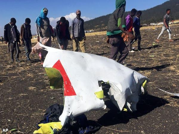 3月10日のエチオピア航空機墜落事故は、自動操縦システムの問題点が指摘されている=ロイター