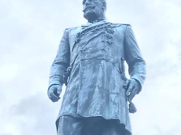 プーチン氏が尊敬する帝政時代の首相、ストルイピン像